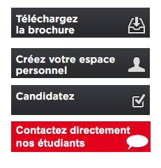 Exemple de Call to action EM Lyon