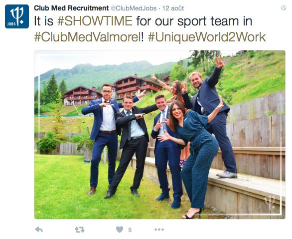 Des employés du Club Med bien sympathiques !