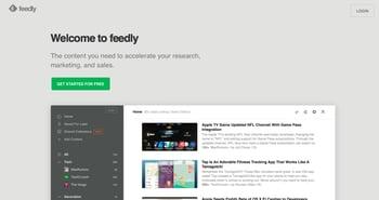 Feedly rápidamente le permite los mejores blogs