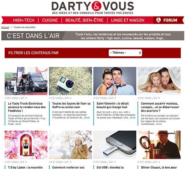 Darty répond aux préoccupations courantes de ses consommateurs