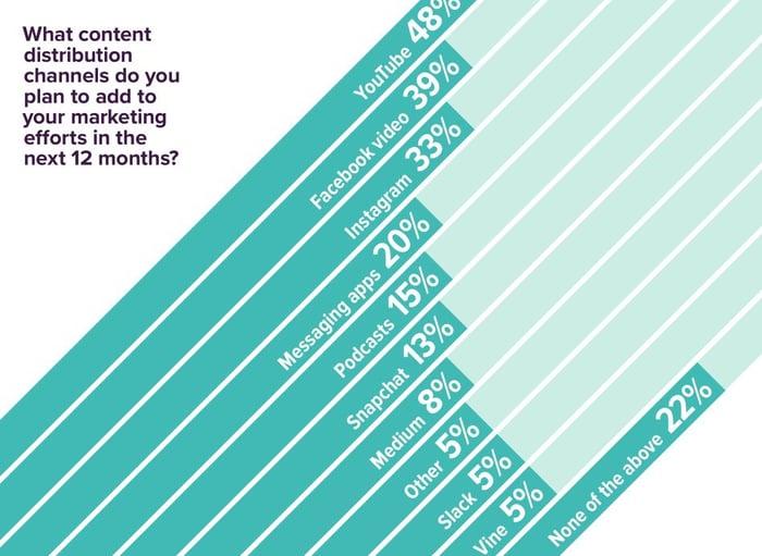 Le contenu visuel dominera en 2017