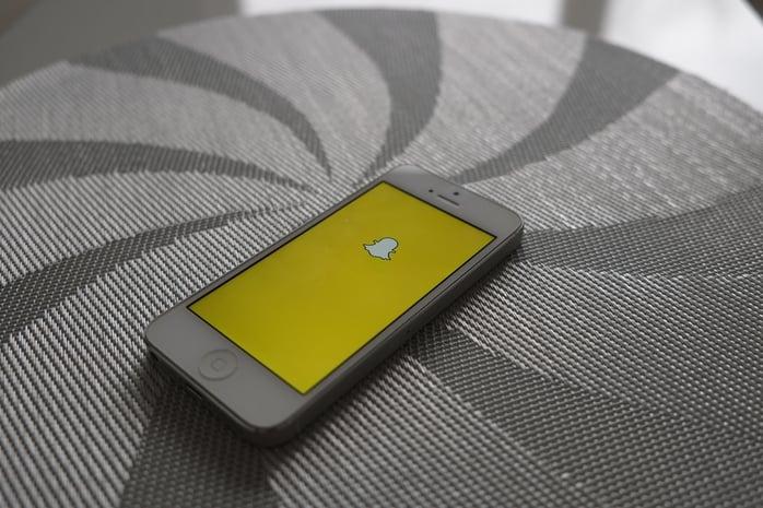 Snapchat est le réseau social de 2016