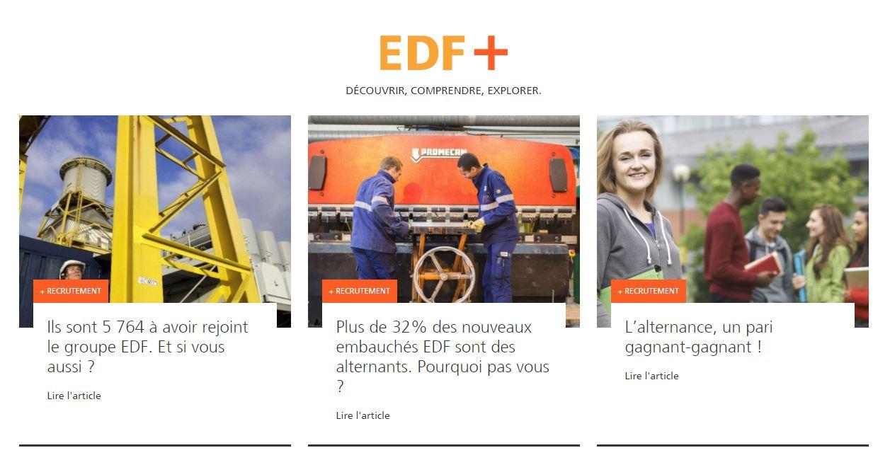 EDF propose une EVP basée sur la formation
