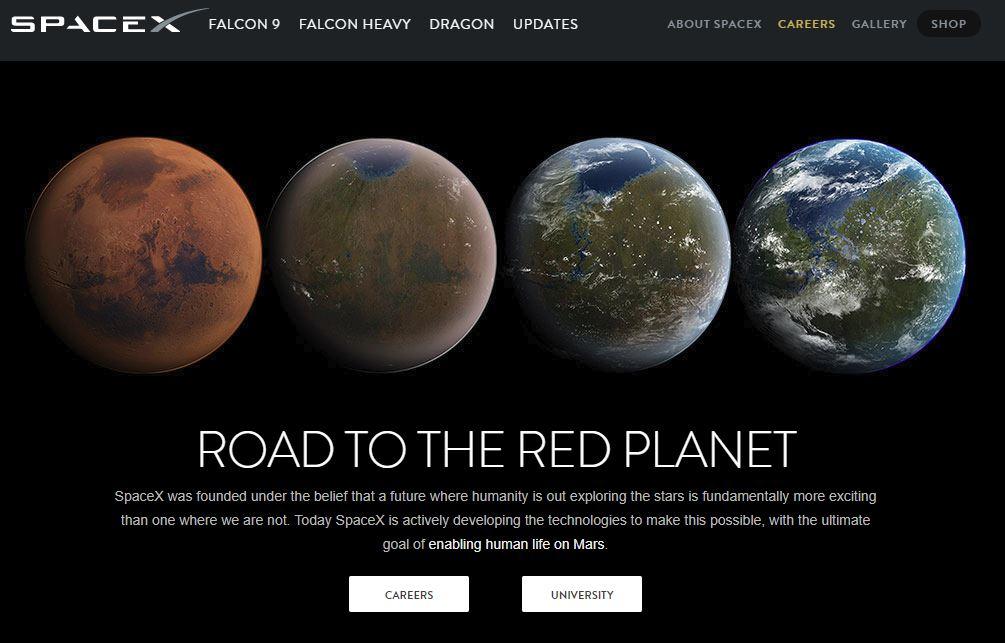 L'entreprise SpaceX fait rêver des ingénieurs du monde entier