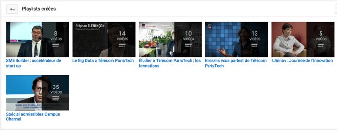 La chaîne YouTube de Télécom ParisTech