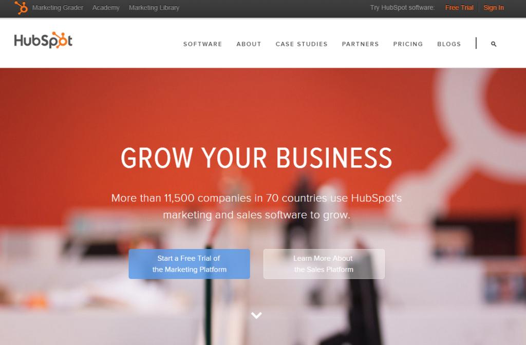Hubspot est un site incontournable de l'Inbound Marketing