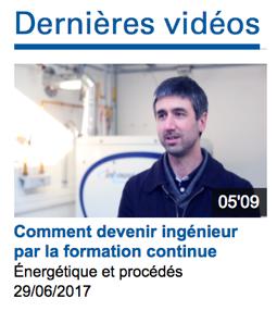 Vidéo sur le site internet de l'École des Mines ParisTech