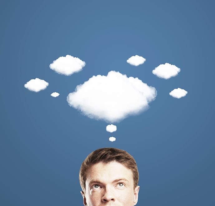 La tête dans les nuages.. est-ce un bon signal ?