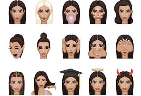 Les emojis de Kim Kardashian