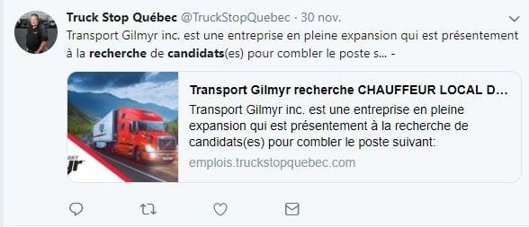 Recrutement et réseaux sociaux : un exemple au Québec