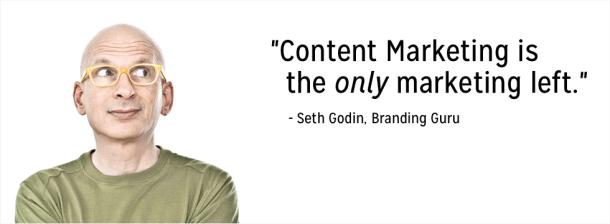 Seth Godin, ancien directeur du Marketing de Yahoo et pionnier du Content Marketing