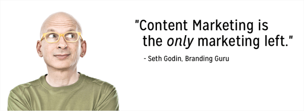 Seth Godin, ancien directeur du Marketing de Yahoo et pionnier du Content Marketing