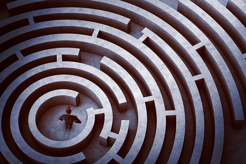 bigstock-Center-of-a-maze-106593728.jpg