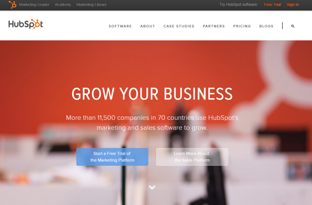 Hubspot est un site incontournable de l'Inbound Marketing